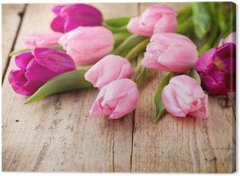 Tulip. Canvas Print