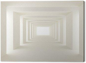 Canvas Print tunnel of light