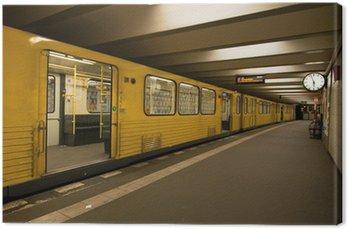 Canvas Print U-Bahn station