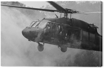 Canvas Print UH-60 Blackhawk Helicopter