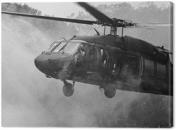 Canvas Print UH-60 Blackhawk Helicopter