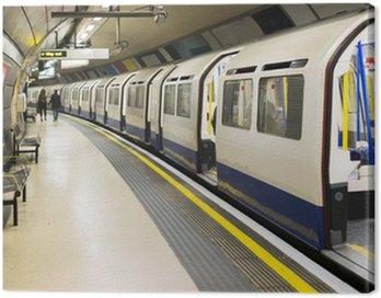 Canvas Print Underground in London