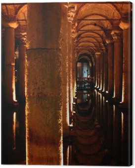 underground palace cistern in istanbul