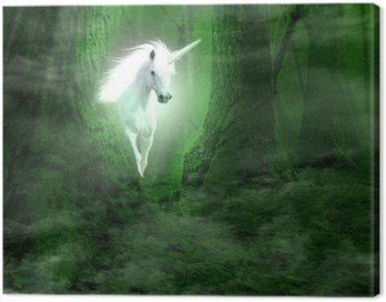 Canvas Print Unicorn
