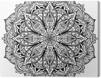 vector, graceful, black mandala