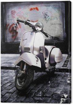 Canvas Print Vespa