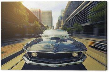 Canvas Print Vintage Cabriolet