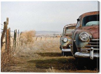 Canvas Print vintage cars