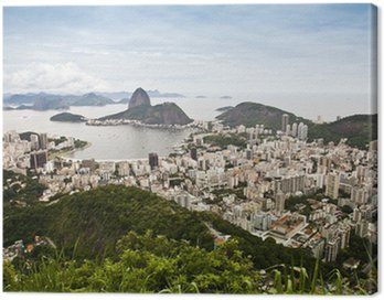 Canvas Print Vista di Rio de Janeiro