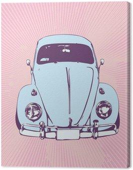 Canvas Print volkswagen beetle