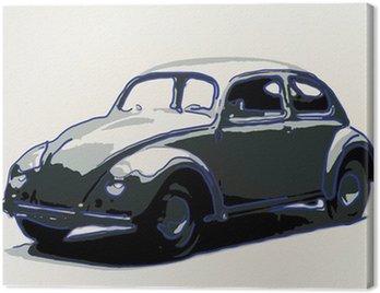 Canvas Print volkswagen -illustration