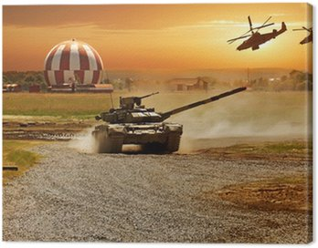 Canvas Print War
