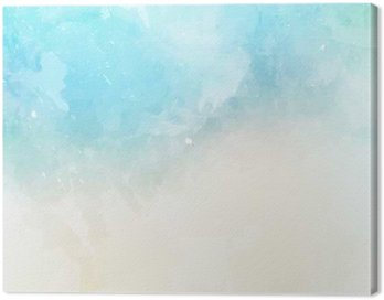 Watercolor texture background Canvas Print