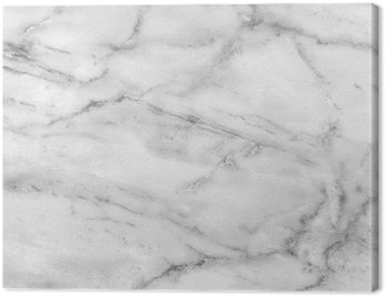 Canvas Print White marble texture (high.res.)