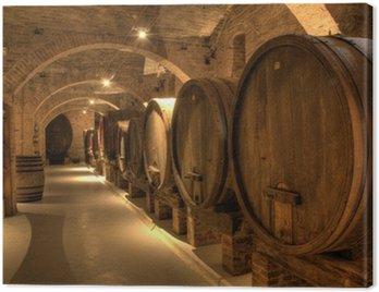 Wine cellar in Abbey of Monte Oliveto Maggiore
