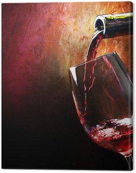 Canvas Print Wine