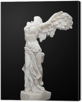 Winged Victory of Samothrace statue
