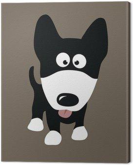 Canvas Print Wolf Dog