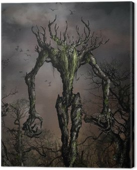 Canvas Print wrath of the nature