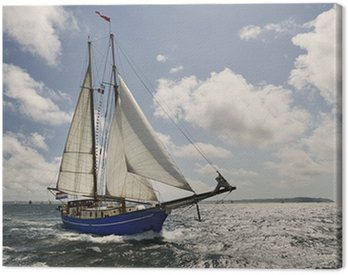 Yacht Sailing. Collection of ships and yachts