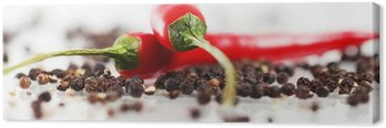 Canvas Rode chili peper