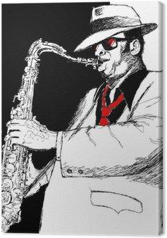 Canvas Saxofonist