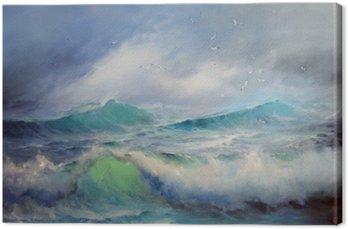 Canvas Seagulls