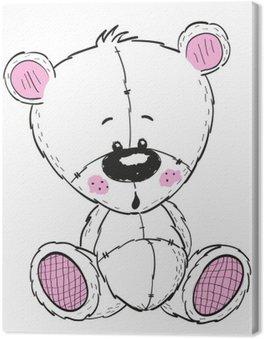 Canvas Tekening Teddy