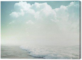 Canvas Tropische achtergrond