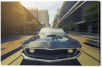 Canvas Vintage Cabriolet