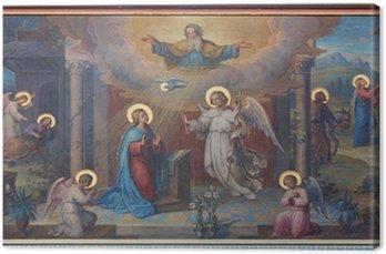 Canvas Wenen - Aankondiging verse Karmelieten kerk