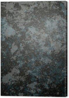 Canvas Zwarte steen