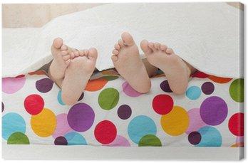 Canvastavla A feets av litlle barn