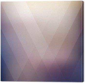 Canvastavla Abstrakt geometrisk lila polygonal bakgrund. vektor