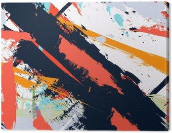 Canvastavla Abstrakt konst grunge bedrövad seamless