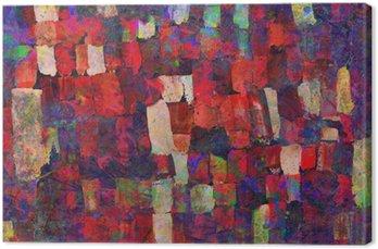 Canvastavla Abstrakt konst målning
