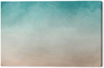 Canvastavla Abstrakt vattenfärg Textur