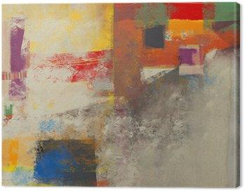 Canvastavla Abstraktion