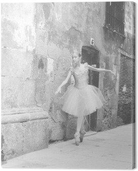 Canvastavla Bailarina 4