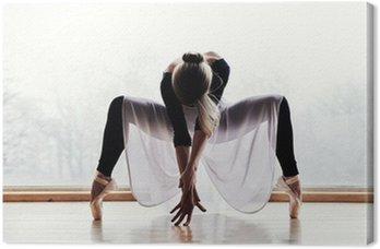 Canvastavla Balettdansös