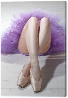 Canvastavla Ballerina ben