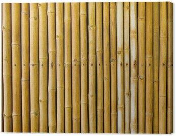 Canvastavla Bamboo staket