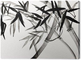 Canvastavla Bambu lund