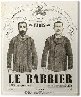 Canvastavla Barberaren