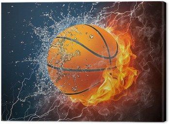 Canvastavla Basket boll