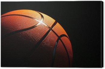 Canvastavla Basket