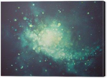 Canvastavla Bokeh glänsande abstrakt bakgrund