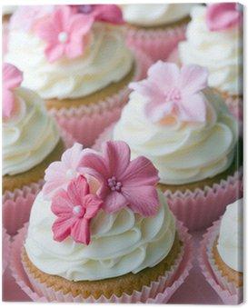 Canvastavla Bröllop cupcakes