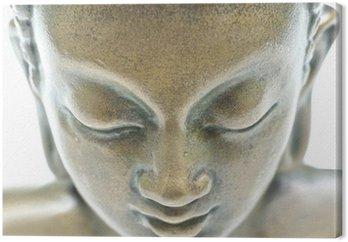 Canvastavla Buddha porträtt