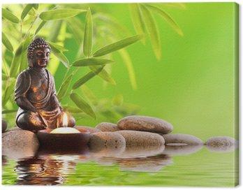 Canvastavla Buddha Zen